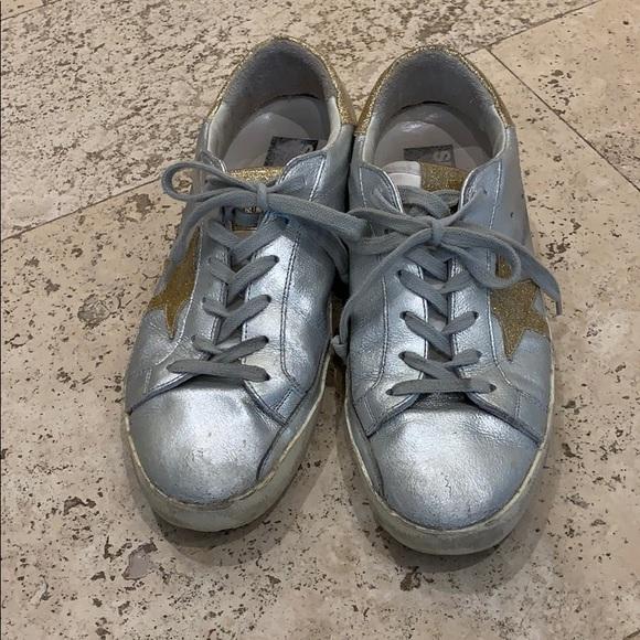 Golden Goose Running Shoes